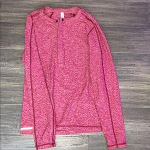 men's long sleeve red lululemon long sleeve shirt